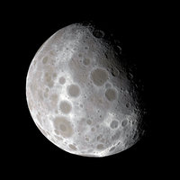 Dwarf Planet or Small Moon 8K