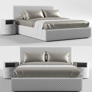 3D estetica vision nice bed model