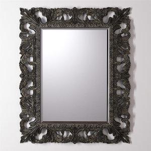 3D black richard mirror model
