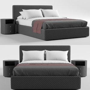 3D estetica vision nice bed