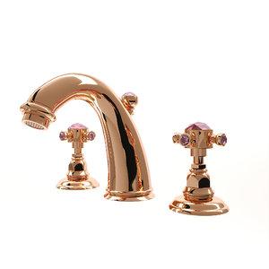 3D wash basin mixer nicolazzi model