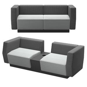 3D - sofa