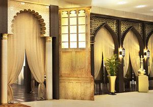 arabic wind tower ramadan 3D