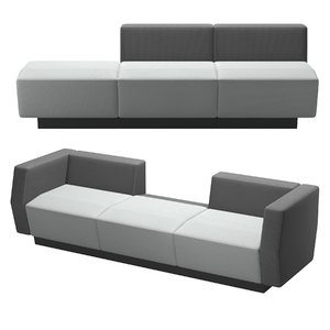 3D - sofa model