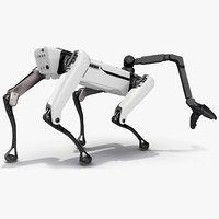 Dog Robot Generic Rigged for Blender
