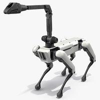 Dog Robot Generic Rigged for Cinema 4D