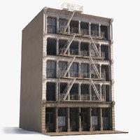 Hyper Realistic Soho NYC Facade 3