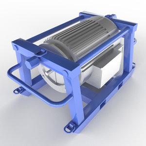 3D electric motor ele