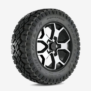 3D wrangler wheel duratrac model