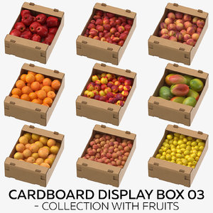 3D cardboard display box 03