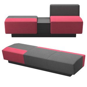 - sofa 3D model