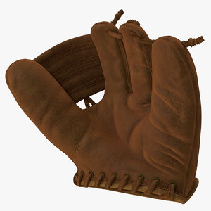 vintage baseball glove generic model