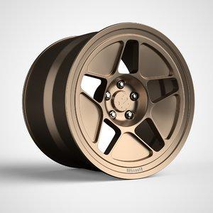 3D parts wheels