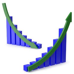 3D model graph shape