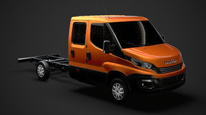 iveco daily crew cab 3D model