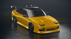 nissan 240sx sports car model