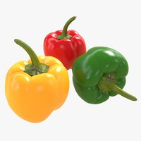 Low/High Poly Pepper's