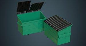 dumpster 2a 3D model