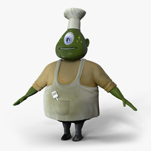alien chef model