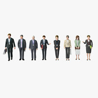 Business People 03(Standing)