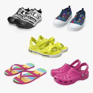 3D baby shoes