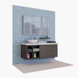 bath tap 2 3D model
