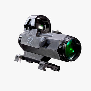 scope ready asset fps 3D