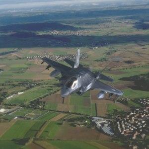 3D fighter airplane lockheed model