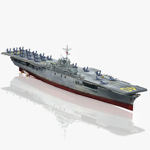 uss tarawa cvs 40 3D model
