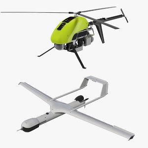 3D uav drone