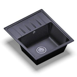 3D model sink standart black random