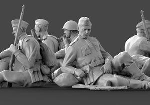 soldier ussr 2ww model