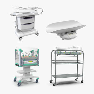 3D newborn equipment model