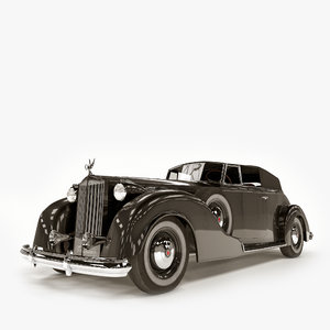 car packard victoria 3D model