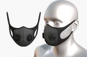 safety mask protection 3D