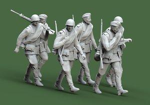 soldier ussr 3D