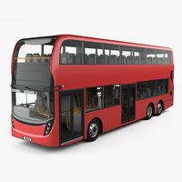 Alexander Dennis Enviro 500 Double Decker Bus with HQ interior 2016