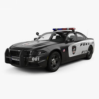 Dodge Charger Police with HQ interior 2015