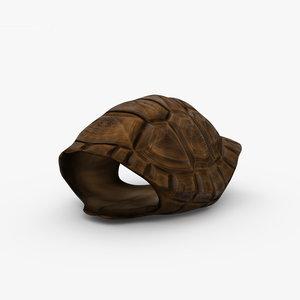 turtle shell 3D model