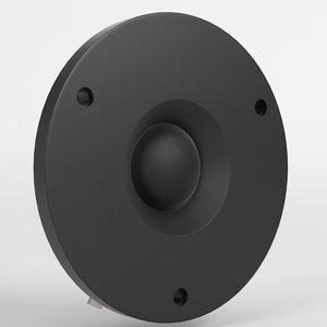 3D tweeter speaker
