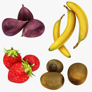 fruit 1 3D model