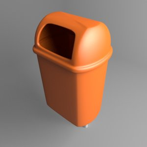 waste container 10 3D model