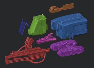3D print toy model