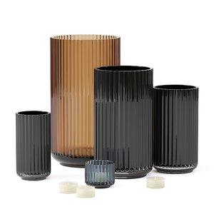 3D set vases 15 model