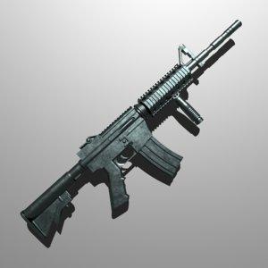 3D m4a1 rifle