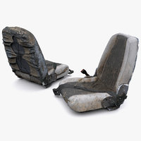 heavy equipment seat