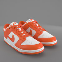 Nike  Dunk Low orange blaze PBR