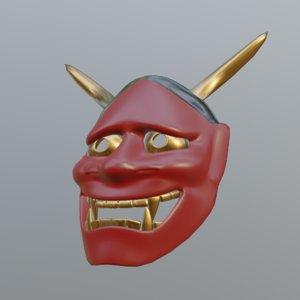 kabuki mask 3D model