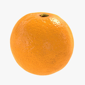 orange polys 3D model