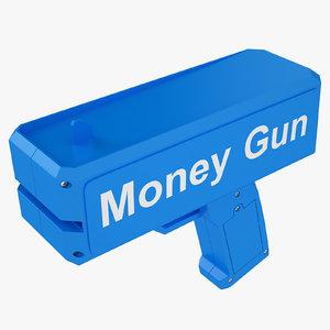 cash cannon blue 3D